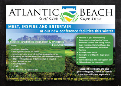Atlantic Beach Club | Advert Design