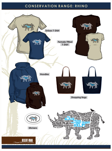 T-shirt Design | Rhino Conservation