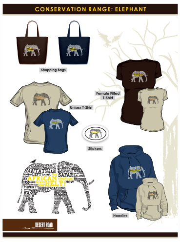 T-shirt Design | Elephant Conservation