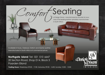 Design Divani | Advert Design