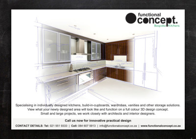 Funcional Concepts | Advert Design
