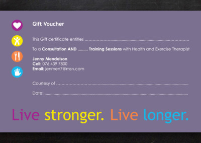 Jennifer Mendelson | Voucher Design