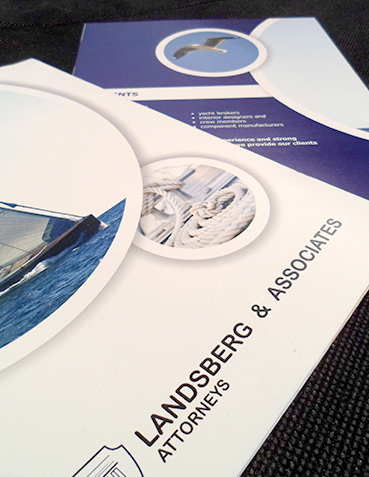 Landberg Associates | Mini Brochure Design