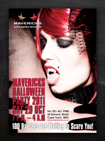 Mavericks Halloween | Poster Design