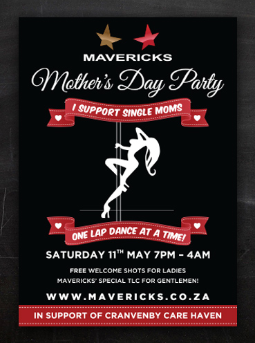 Mavericks Mother's Day | Poster Design