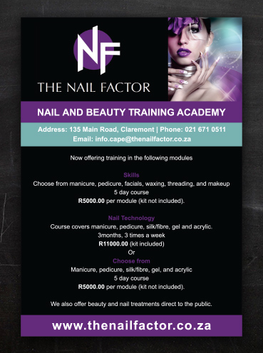 Nail Factor | Advert Design
