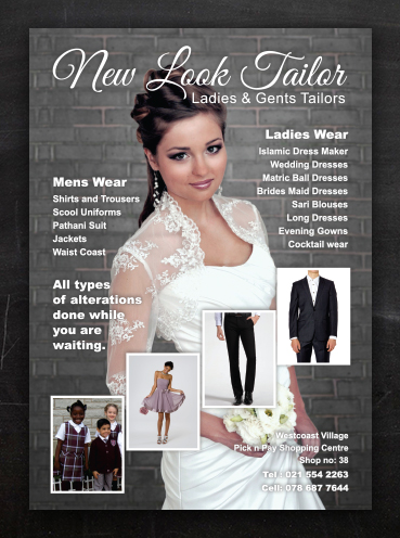 New Look Tailor | Advert Design