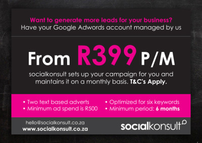 SocialKonsult | Advert Design