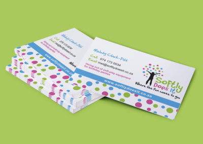 Softly-Does-It-Business-Cards