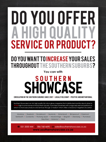 Southern Showcase | Flyer Design