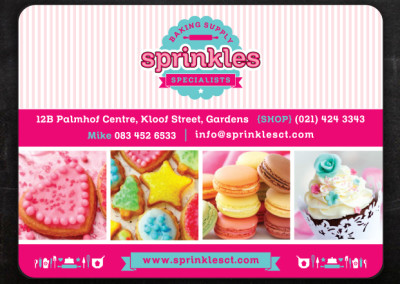 Sprinkles | Advert Design