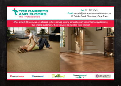 Top Carpets | Adverts Design