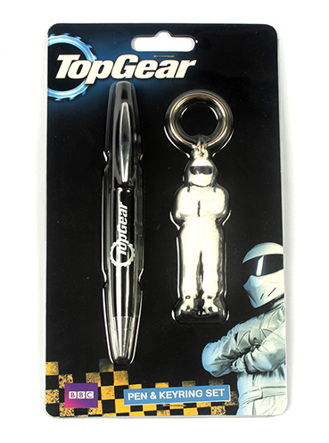 Top Gear | Pen & Keyring Set