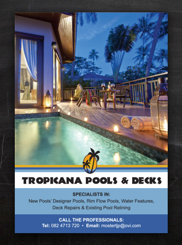 Tropicanan Pools | Advert Design