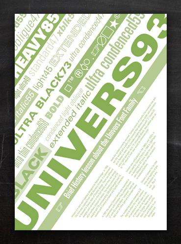 Universe Font | Poster Design