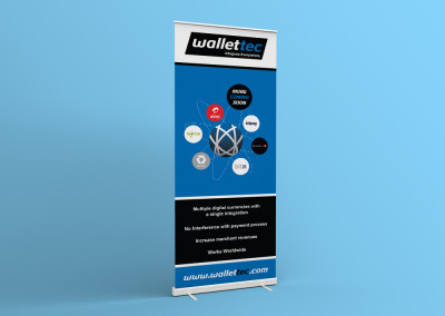 Wallettec | Banner Design