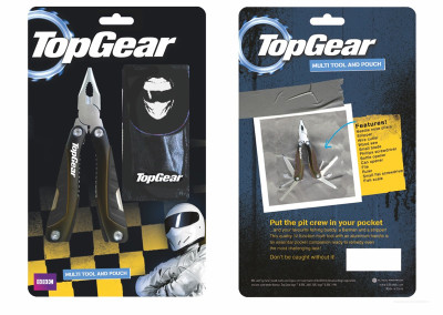 Top Gear | Multitool Packaging