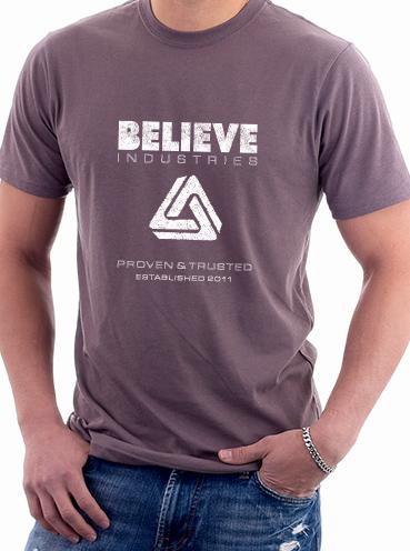 T-shirt Design   Believe Industries