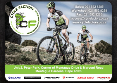 Cycle Factory | Advert Design