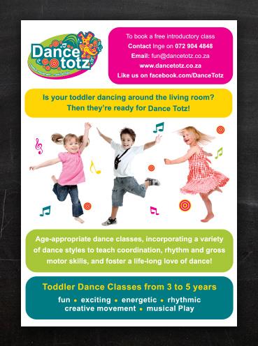 Dance Totz | Flyer Design