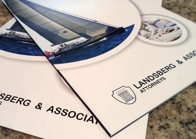Landberg Associates | Mini Brochure Design