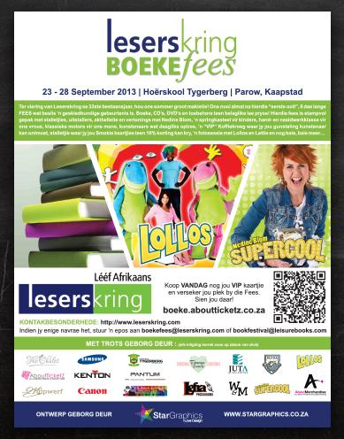 Leserskring Boeke Fees | Advert Design