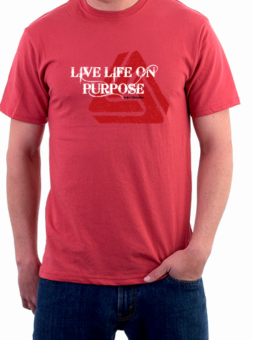 T-shirt Design   Live with Purpose