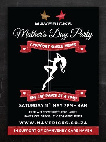 Mavericks Mother's Day | Poster Design