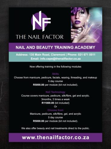 Nail Factor | Advert Design