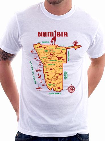 T-shirt Design   Namibia