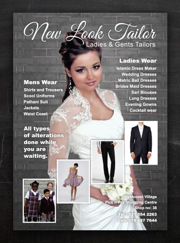 New Look Tailor | Advert Design