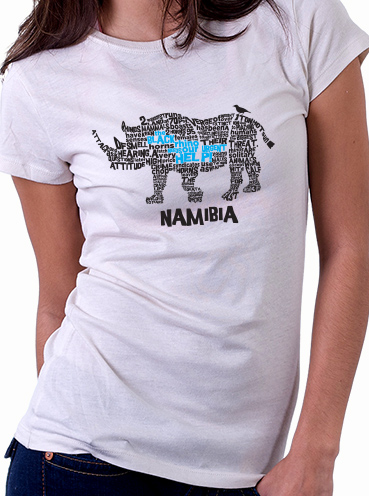 T-shirt Design   Rhino Conservation