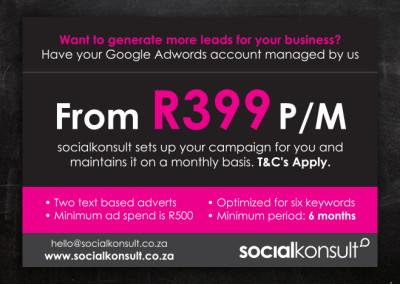 SocialKonsult | Advert Design
