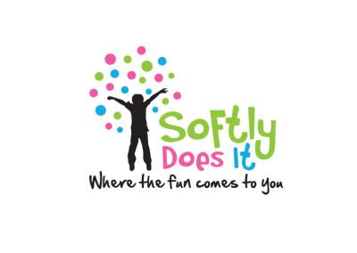 Softly Does It Logo
