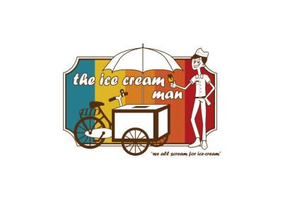 The Ice Cream Man Logo