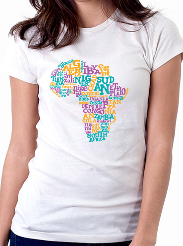 T-shirt Design   Africa